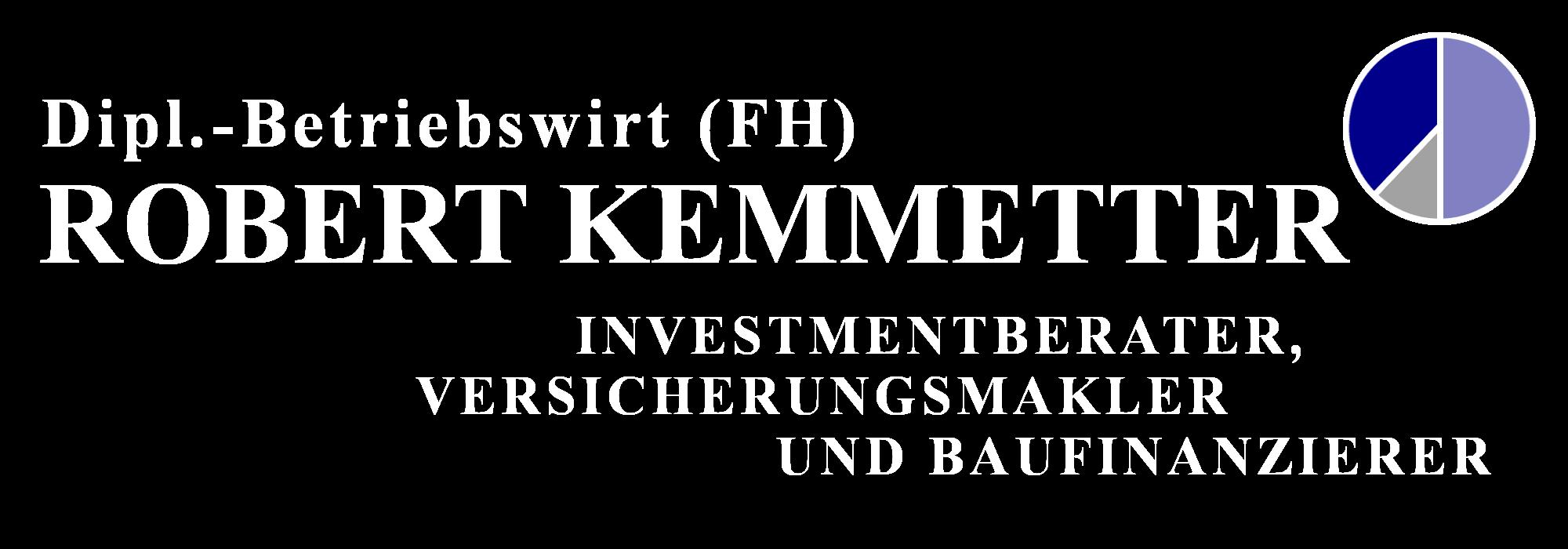Logo Robert Kemmetter - Investmentberater, Versicherungsmakler und Baufinanzierer
